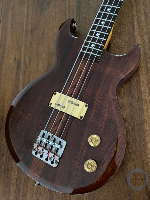 "Aria Pro II Bass, Cardinal Series, 32"" Medium Scale, Ash Brown, 1981"