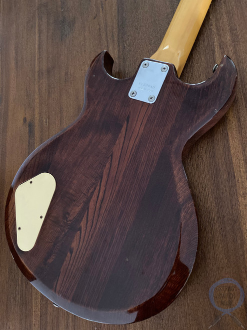 "Aria Pro II Bass, Cardinal Series, 32"" Medium Scale, Ash Brown, 1981"