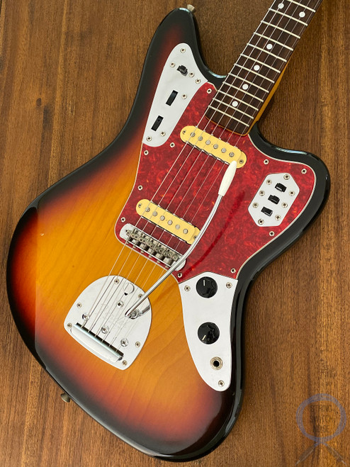 Fender Jaguar, '66, 3 Tone Sunburst, 1997, Alder