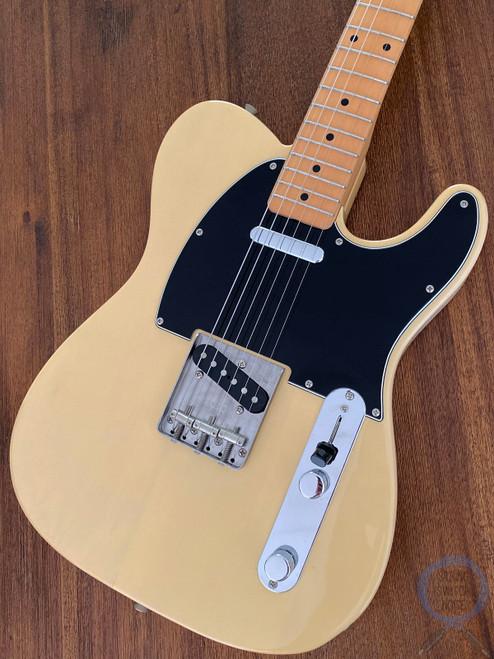 Fender Telecaster, '72, Blonde, Black Guard, 1997