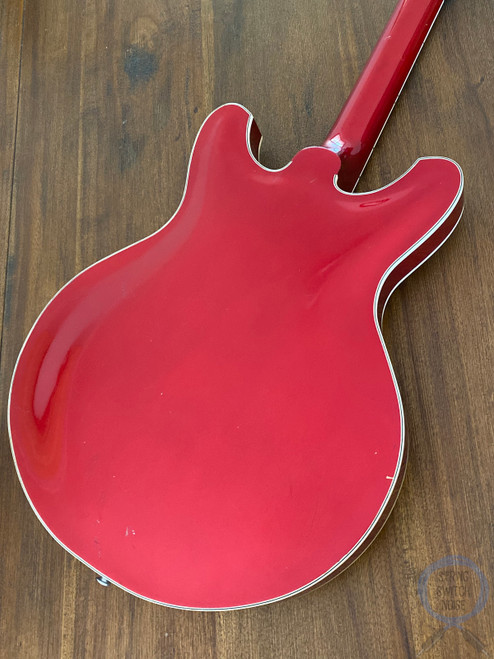 Yamaha SA-70, Hollow Body Bass, Candy Red, 1973, RARE to find