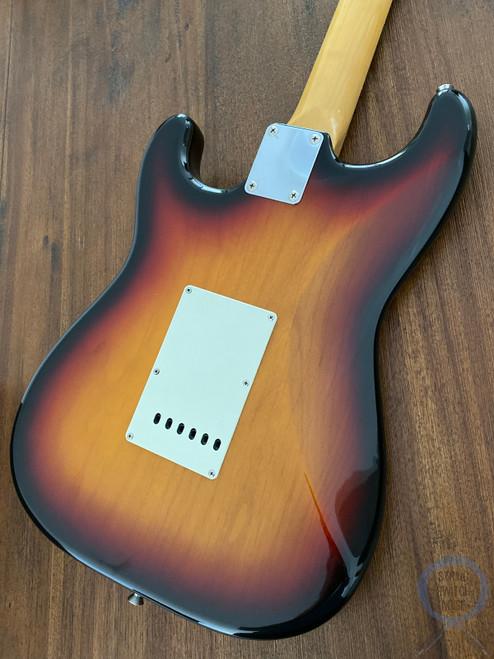 Fender Stratocaster, '62, Sunburst, 1997, USA Texas Special Pickups