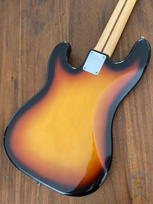 Fender Precision Bass, 2002, Sunburst / White Guard