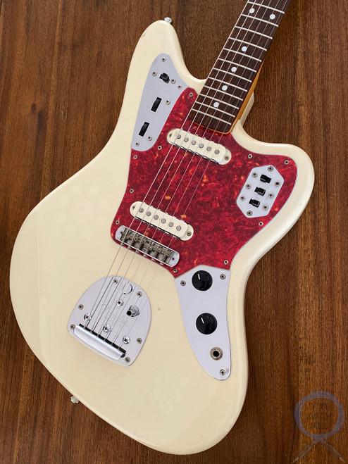 Fender Jaguar, '66, Vintage White, 1997, Alder Body