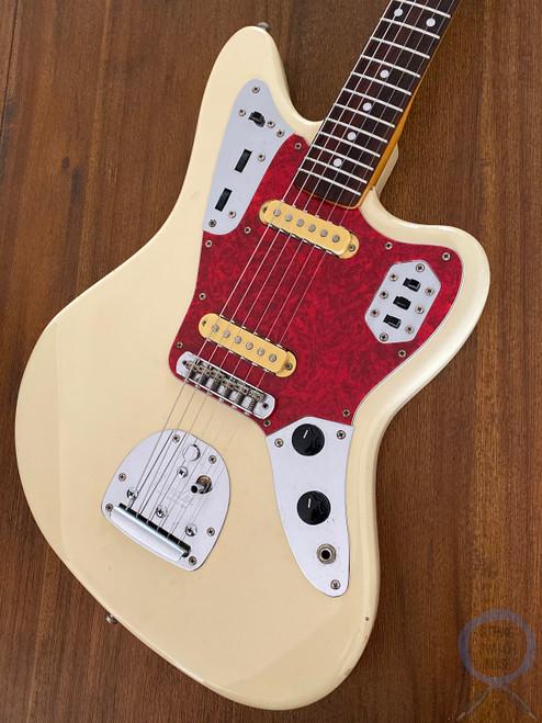 Fender Jaguar, '66, Vintage White, 1997, Alder