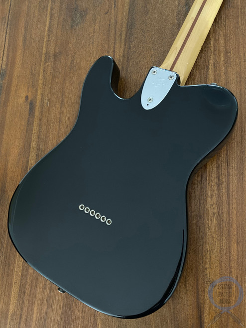 Fender Telecaster Custom, '72, Black on Black, 2010, Ash Body