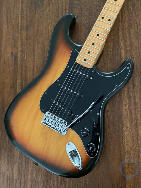 Fender Stratocaster, 1979, All Original Vintage, USA, Sunburst, OHSC