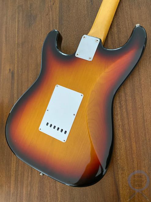 Fender Stratocaster, '62, Sunburst, 1996, USA Texas Special Pickups
