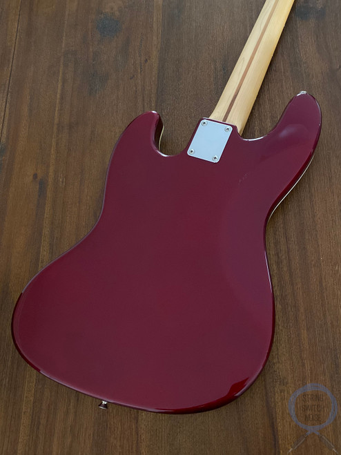 Fender Aerodyne Jazz Bass, Old Candy Apple Red, 2005