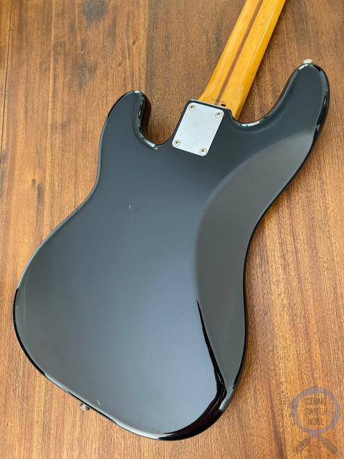 Fender Precision Bass, '57, Black on Black, 1994