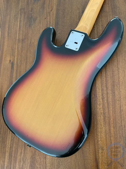 Greco Precision Bass, 1977 Vintage, 3 Tone Sunburst