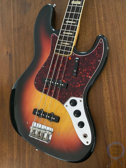 Greco Jazz Bass, JB-450, Sunburst, 1973 vintage, MIJ
