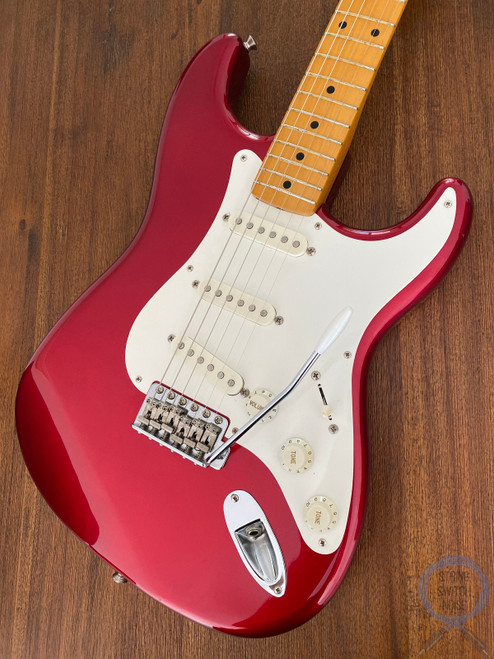 Fender Stratocaster, '57, Candy Apple Red, 1994, Near Mint Condition