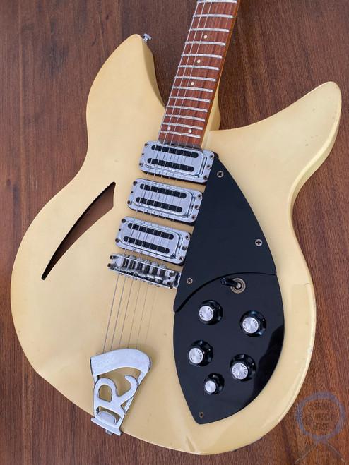 Rickenbacker 340, RARE, Semi Hollow Guitar, 1983 USA, Blonde (White)