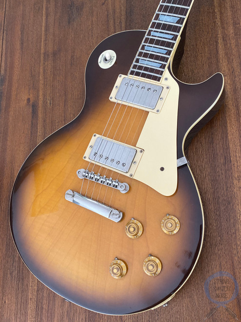 Greco Les Paul, Super Power, MIJ, 1980, Plain Top, Honey Burst