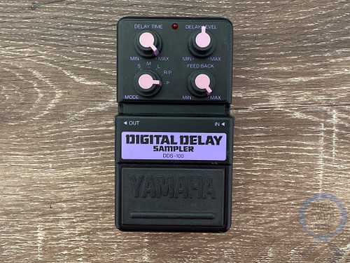 Yamaha DDS-100, Digital Delay Sampler, Made In Japan, Early 90s, Guitar Effect Pedal