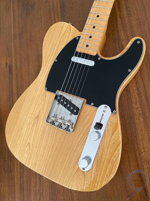 Fender Telecaster, '72, Ashwood Blonde, 1999, Black Guard