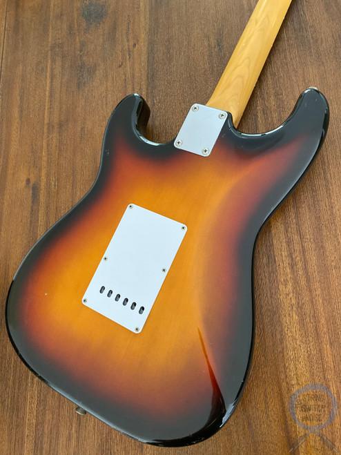 Fender Stratocaster, '62, Sunburst, 1996, USA Texas Special