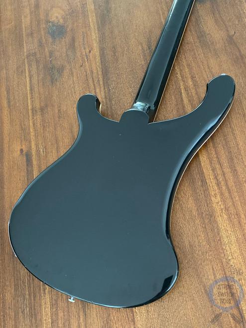 Rickenbacker 4001 Bass, USA 1975 Vintage, Jetglo, Original Hard Case