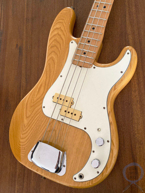 Aria Pro II, Precision Bass,1980, Dimarzio Pickup, Natural