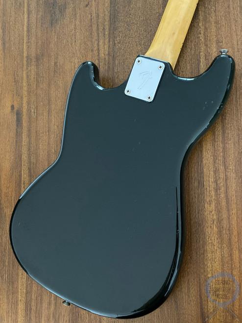 Fender Musicmaster Bass, 1977 VINTAGE, Black, USA, Short Scale