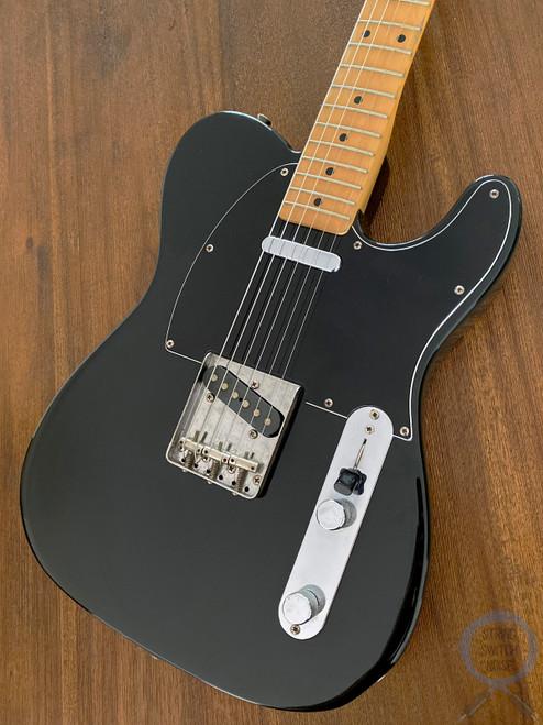 Fender Telecaster, '72, Black on Black, 1993