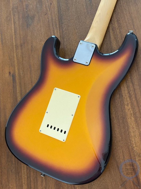 Fender Stratocaster, Aged Three Tone Sunburst, 1993, Rosewood Neck