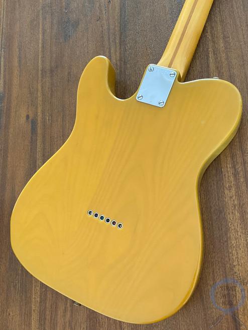 Fender Telecaster, '52, Butterscotch Blonde, 1985, USA Vintage Pickups