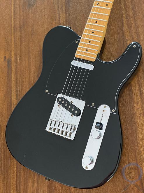 Fender Telecaster, '72, Medium Scale, RARE, Black, 1984 Vintage
