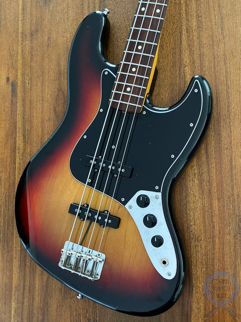 Fender Jazz Bass, '62, Sunburst, 1995, Alder Body