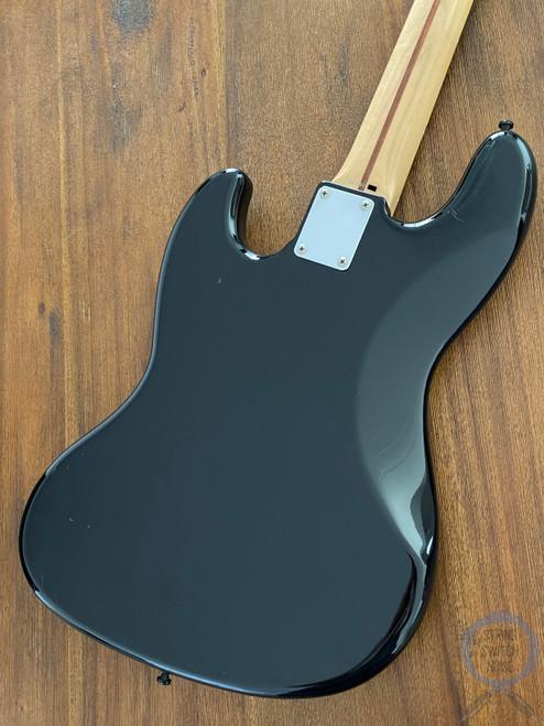Fender Jazz Bass, Black High Gloss, Black Guard, 2005