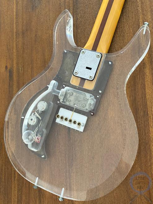 Greco, (Ampeg/Dan Armstrong) Guitar, AP1000, Lucite/Plexi Body, 1990