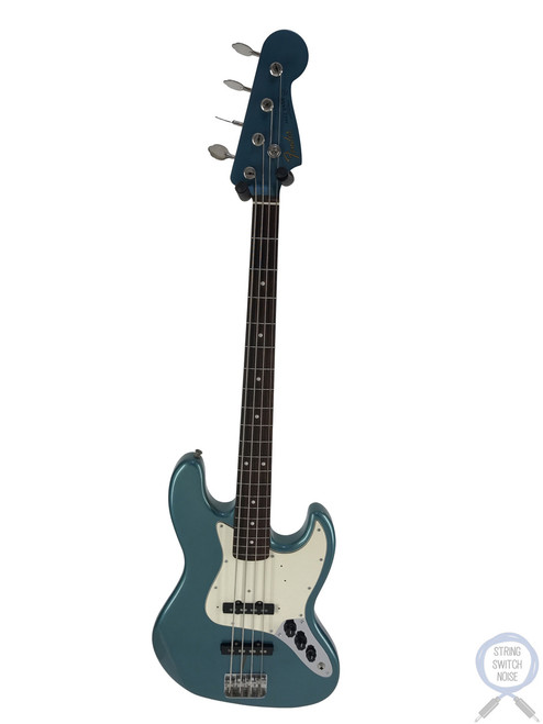 Fender Jazz Bass, '62, USA PUPS, Ocean Turquoise Metallic, 1997