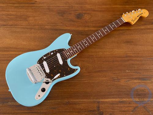 Fender Mustang, '69, Sonic Blue, 2010, Near Mint