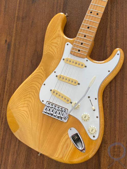 Fender Stratocaster, '72, Natural Ashwood, 1991, Excellent Condition