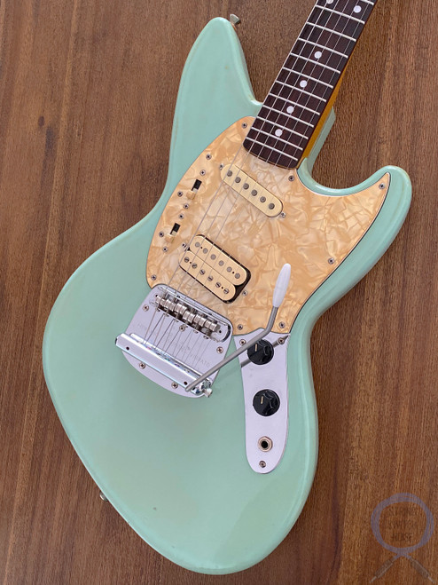 Fender Jagstang, Sonic Blue, 1995, Kurt Cobain (Nirvana) 1st Issue