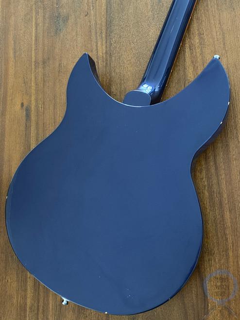 Rickenbacker 330, Semi Hollow, Midnight Blue, USA, 2010, Original Hard Case