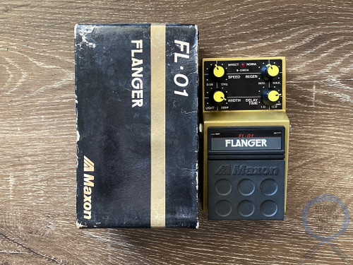 Maxon FL-01, Flanger, Made In Japan, 1980's, Original Boxing, Vintage Effect