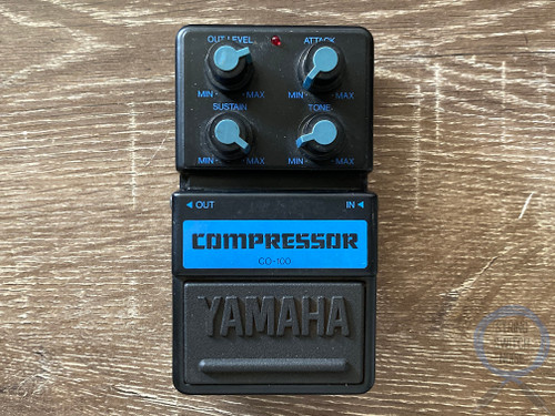 Yamaha CO-100, Compressor, Made In Japan, Early 90s, Guitar Effect Pedal