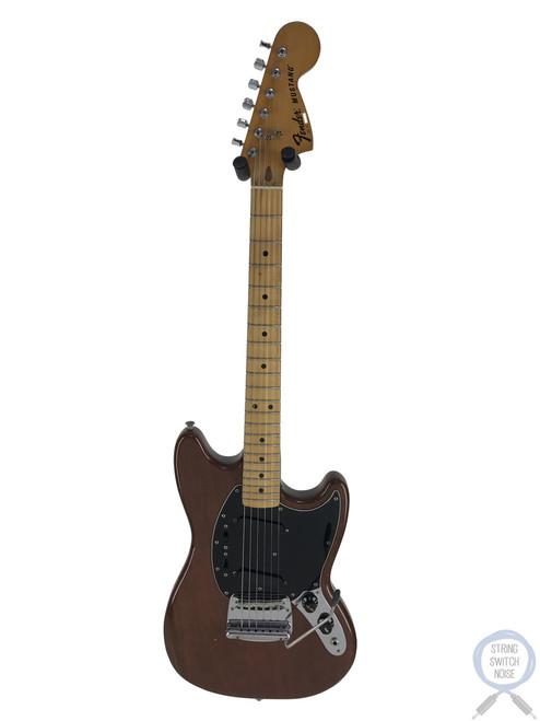 Fender Mustang, Mocha, USA VINTAGE, 1977, Hard Case