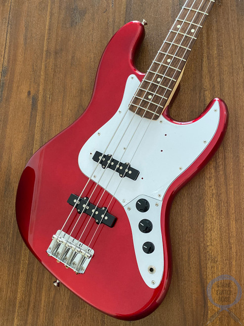 Fender Jazz Bass, Candy Apple Red, 2006 Model, Excellent Condition