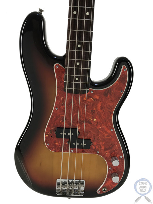 Fender Precision Bass, '62, 3 Tone Sunburst, 1994