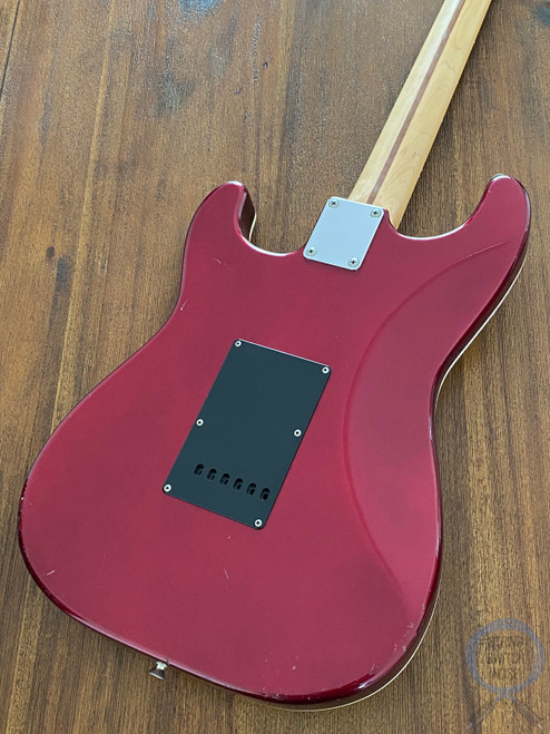 Fender Stratocaster, Aerodyne, Old Candy Apple Red, 2007