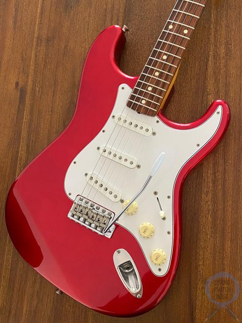 Fender Stratocaster, '62, Candy Apple Red, 1999, USA Vintage Pickups