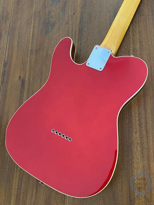 Fender Telecaster, '62 Custom Bound, Candy Apple, 2004, USA Texas Pickups