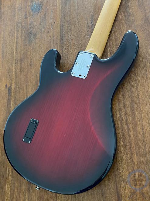 Ernie Ball Musicman, Sting Ray Bass, Black Cherry Burst, USA, 2008, OHSC