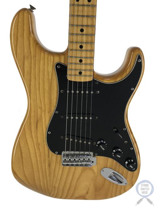 Fender Stratocaster, 1979, Original Vintage USA, Natural Ashwood, OHSC