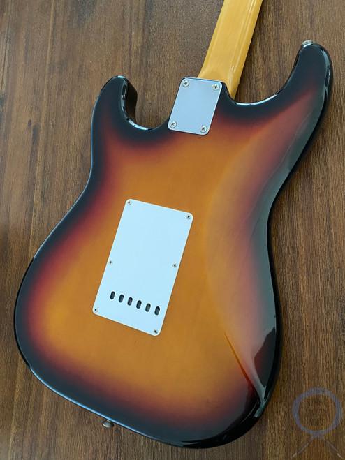 Fender Stratocaster, '62, 3 Tone Sunburst, 1997, USA Vintage Pickups