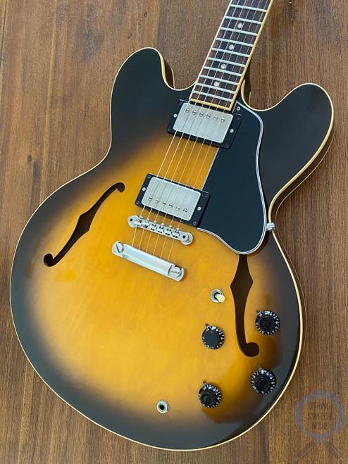 Gibson ES335, DOT, Vintage Sunburst, USA, 1992, OHSC