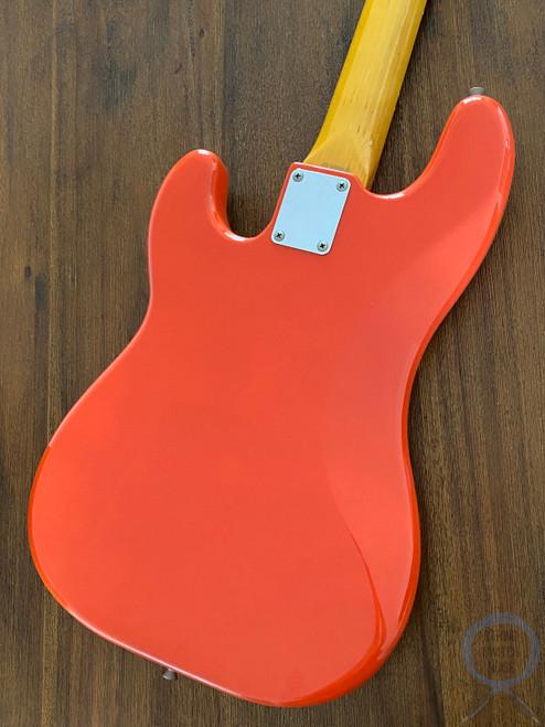 Fender Precision Bass, '62, Fiesta Red, 1997, Excellent Condition